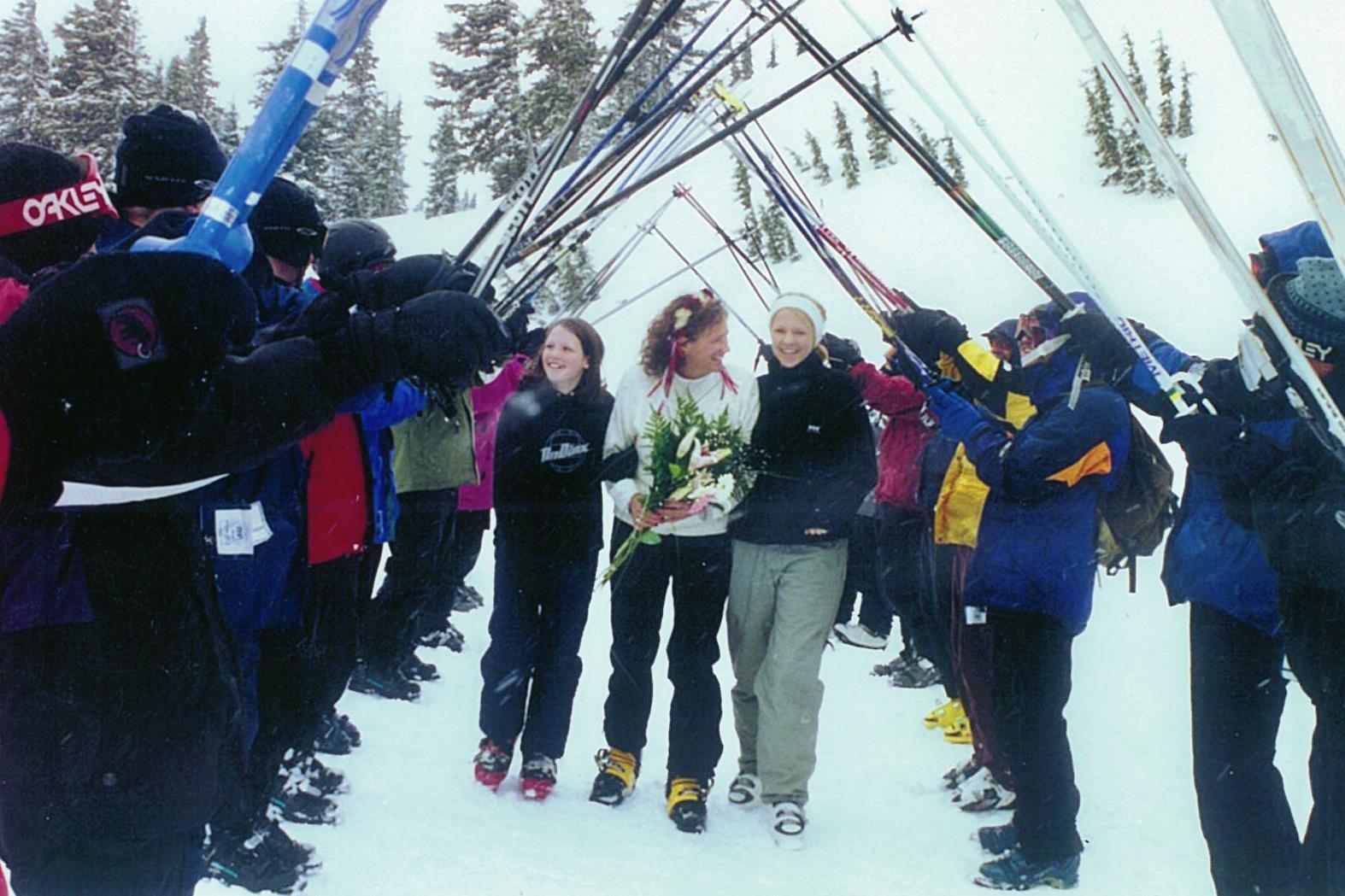Karen Marries Tom Baker 2002