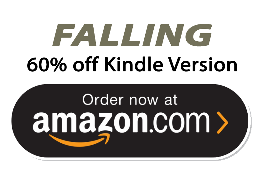 Kindle version of Falling on Sale from Sept 1 to Sept 8